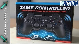 Action Store / Maxxter - Wired USB / Playstation 3 & PC Controller Unboxing & Review