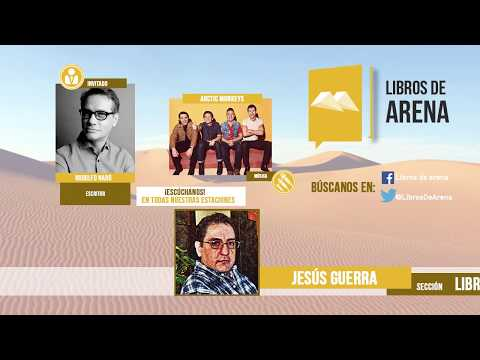 Libros de arena. Radio Cultural. MÉXICO. Rodolfo Naró