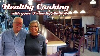 Lisa Vonbergen & History Of Red's Place .::. Healthy Cooking With Your Friendly Italians #58