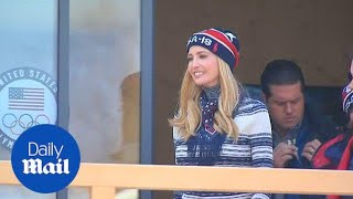 Ivanka Trump visits the US Olympic team house in South Korea - Daily Mail