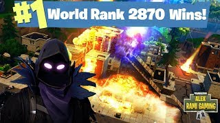 #1 Fortnite World Record 2,871 Solo Wins | Fortnite Live Stream