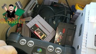 Okchief420 Video Game Hunting EP. 197 Yard Sale Score