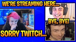 Ninja Cloak & DrLupo MIGHT QUIT Streaming on Twitch & Stream on This Platform If This Happens