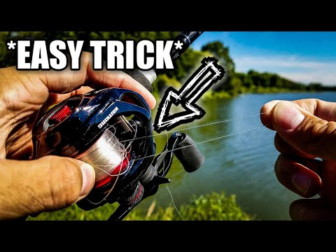 How To Remove A Backlash *FAST* (BAITCASTER TIP)