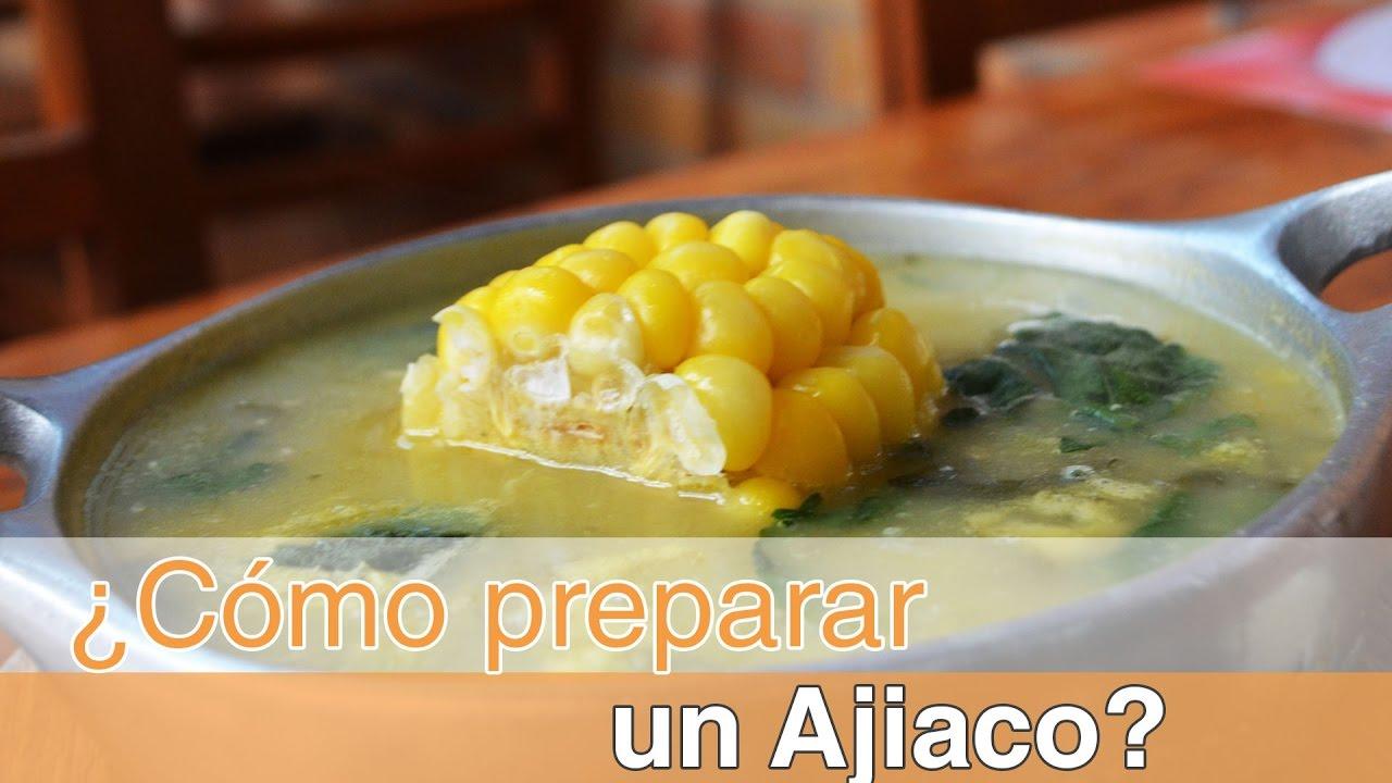C mo preparar un delicioso ajiaco santafer o colombia for Como cocinar un bogavante