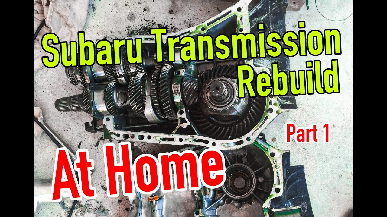 hight resolution of how to rebuild a subaru transmission