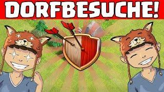 DORFBESUCHE Teil 2! ☆ Clash of Clans ☆ CoC