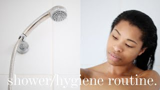 MY SHOWER (HYGIENE) ROUTINE | BEAUTY | ad