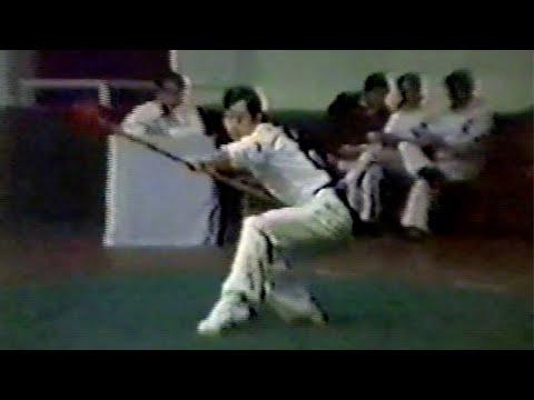 【武術】1984 男子槍術 (4/4) / 【Wushu】1984 Men Qiangshu (Spearplay) (4/4)