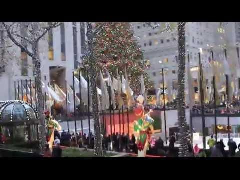 The New York trip. Manhattan. Rockefeller Center