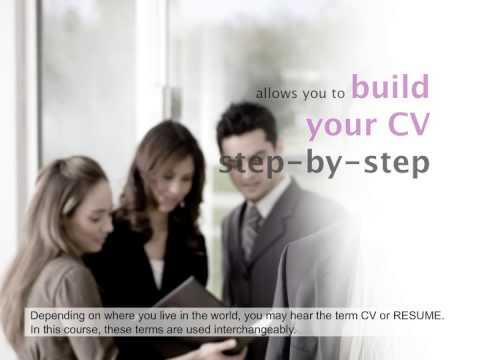Online Resume/CV writing course Cours de rédaction de CV en ligne