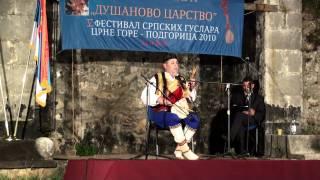 Narodni guslar Mileta Pantovic - Mojkovačka bitka