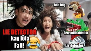 Our 94 year old GRANDMA LIE DETECTOR/BAD DOG/CROCODILE DENTIST? (VLOG #050)