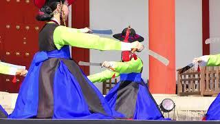 2018「みつきうまし祭り」 韓国の宮廷舞踊 ダイジェスト