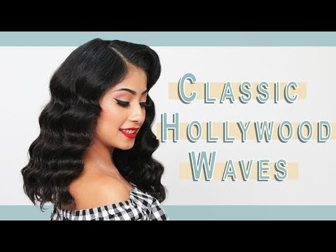 Glam Hollywood Waves Hair Tutorial | Ipsy Mane Event