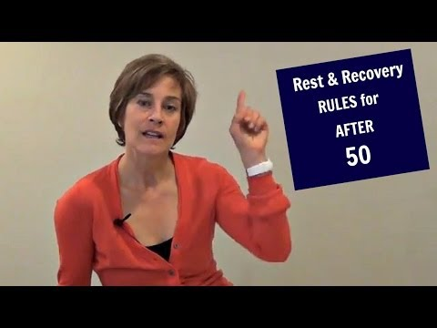 Rest and Recovery Rules For After 50 Exercise