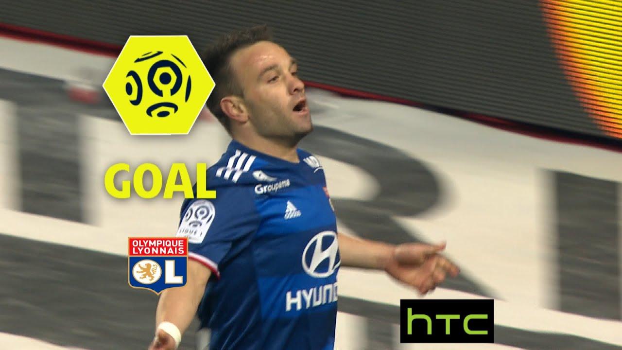 Goal Mathieu VALBUENA 65 AS Monaco Olympique Lyonnais 1 3