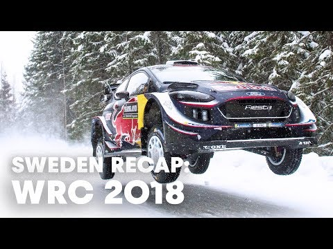Rewatch the best moments of Rally Sweden   WRC 2018