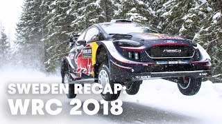 Rewatch the best moments of Rally Sweden | WRC 2018