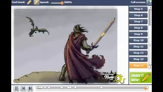 How to Draw a Dragon Slayer