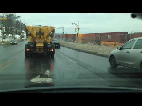 Bad Drivers Of Halifax (With Car Crash)