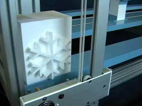 CNC Hotwire Foam Cutting Machine For EPS & XPS For Theme Parks, Decoration, Building & Construction