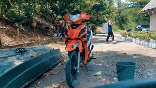 Feeling2 sambil cuci motor | Kriss Mr2 | Gerik,Perak