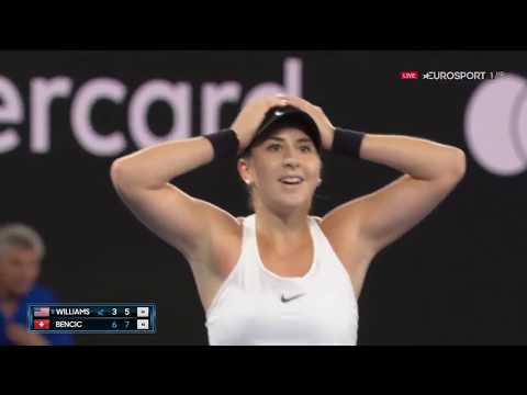 Australian Open 2018 - Belinda Bencic vs Venus Williams - Highlights