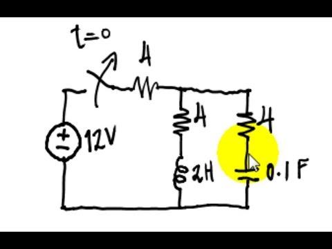 Second Order Circuits (RLC, RLL, RCC)