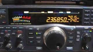 2368.5kHz Radio Symban Received in Japan