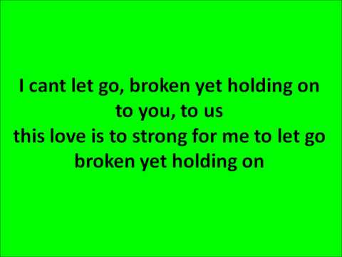 Broken Yet Holding On