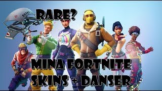 Mina Fortnite Skins, Gliders & Danser