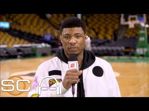 Marcus Smart: Celtics 'still the underdogs' heading into Game 3 at Cavaliers | SC with SVP | ESPN