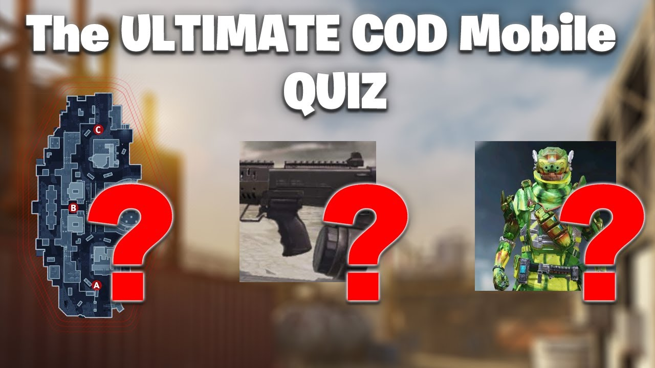The ULTIMATE COD Mobile Quiz!