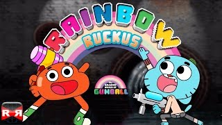 Gumball Rainbow Ruckus (By Turner EMEA) - iOS / Android - Gameplay Video