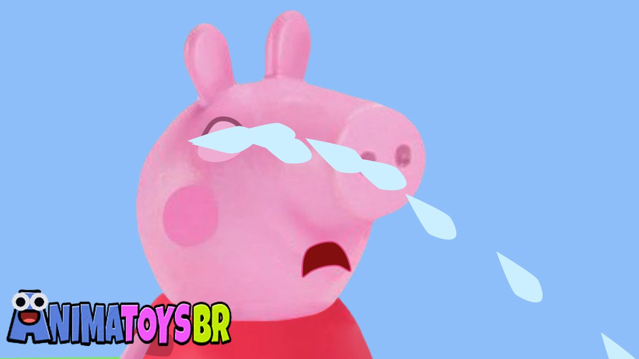 Peppa Pig Crying Peppa Pig Chorando Toy Animation Episode 2016