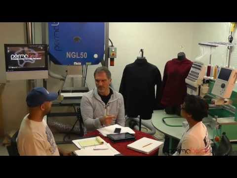 Single Head Embroidery Business Add Permaboss Laser to Make Itself Profitable
