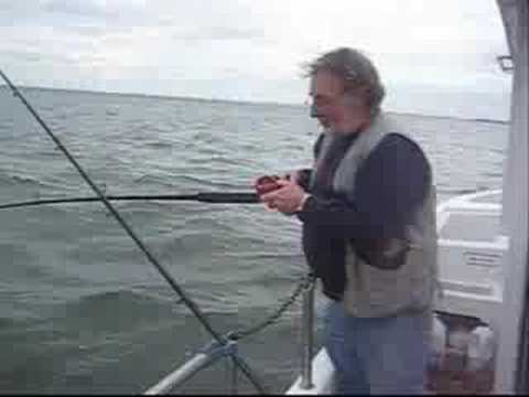 Sea Fishing In Rhyl, North Wales, UK