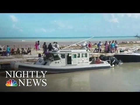 Hurricane Irma Slams Caribbean With 150 MPH Winds | NBC Nightly News