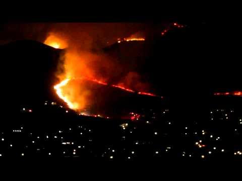 Herriman Utah Wildfire spreads