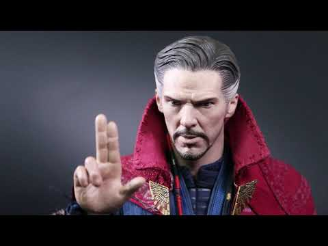 "[Unboxing]Hot Toys Avengers: Infinity War ""Dr. Strange""1/6th scale Collectible Figure"