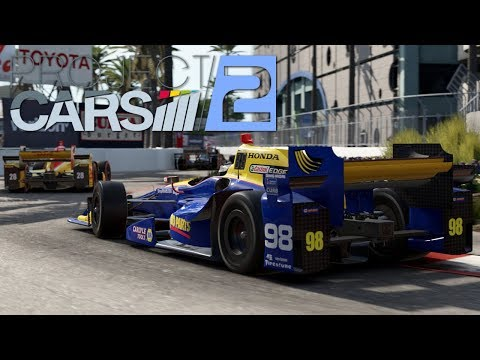 Project Cars 2 Indycar in Long Beach