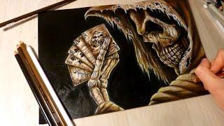 Drawing: Squelette (Skeleton) Halloween