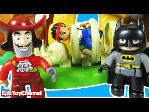 jake the pirate duplo instructions