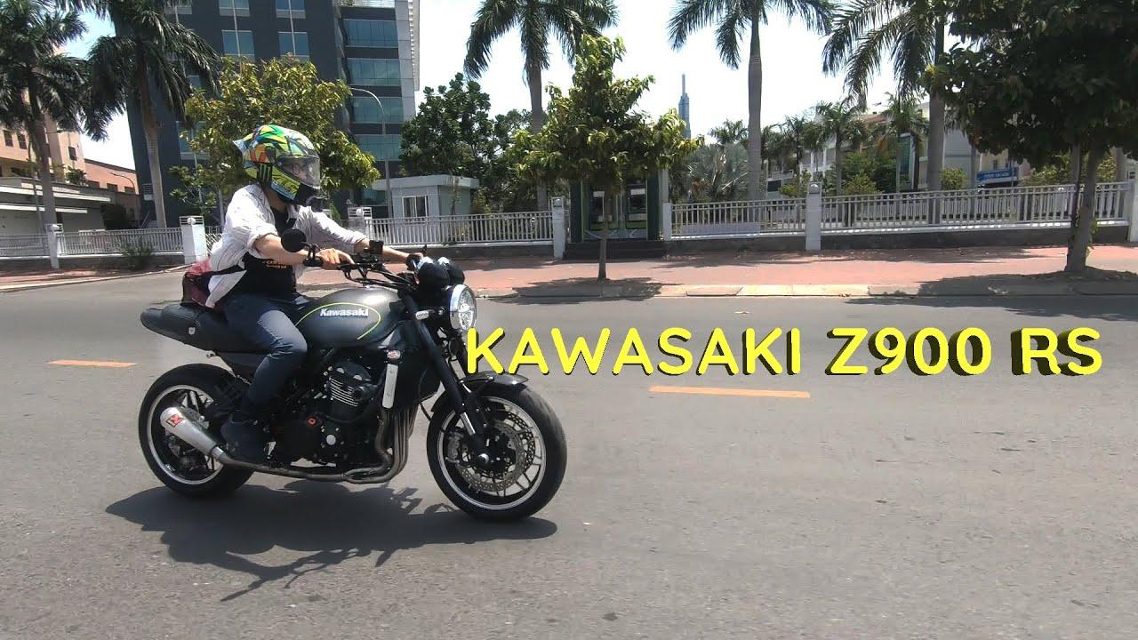 Kawasaki Z900 RS - Tìm về vẻ đẹp của những ngày xưa cũ