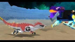 Roblox Dinosaur Simulator Galactic Baro How To Get Roblox Dino Sim Battles 2 Galactic Terrors Vs Galactic Baro By Workclock Zeya