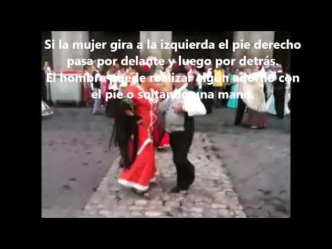 Pasos bailar chotis - Actividad música secundaria