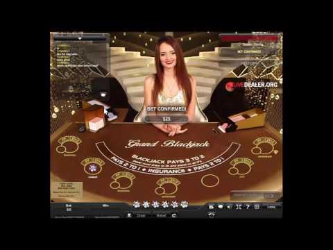 Grand Blackjack (Playtech Live Deal)