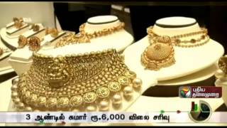 Will the gold rate continue to slide ? spl video news 01-08-2015