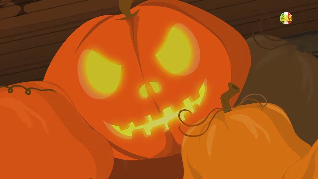 Jack O lantern canzone Halloween per i bambini rima spaventosa Kids Videos  Halloween Nursery Rhymes. Kids Rhymes Italiano dec1a4f24442